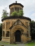 One of many mausoleums in Glasgow's famous Necropolis